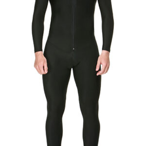 Moto Black Compression Baselayer One Piece Suit