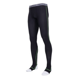 Recovery Men Black Compression Footed Leggings
