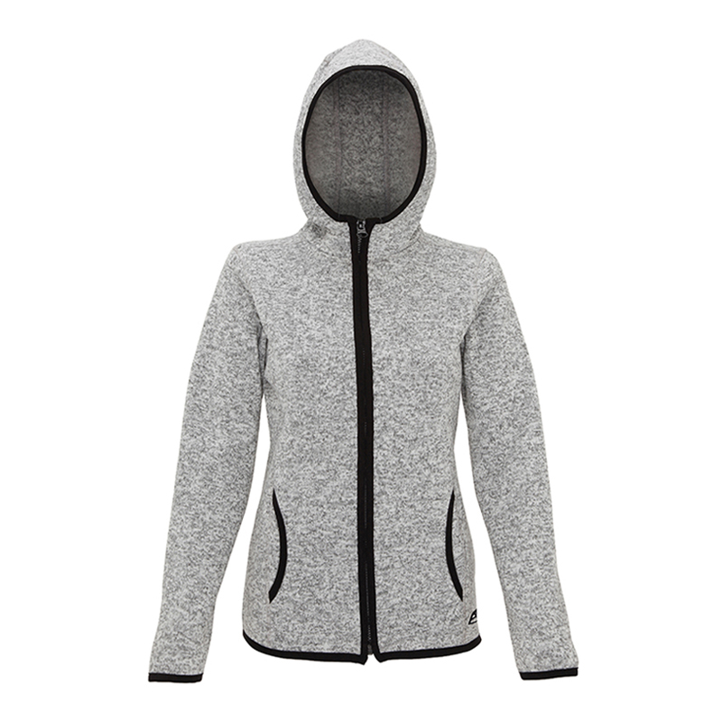 Womens Marl Knit Zip Hoodie - Proskins  Men s and Women s Sportswear and  Accessories 2ed6716e8