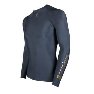 ACTIVE Kids Long Sleeve Compression Crew Neck Top