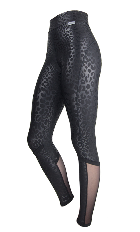Leopard and mesh Proskins Slim Boost Leggings