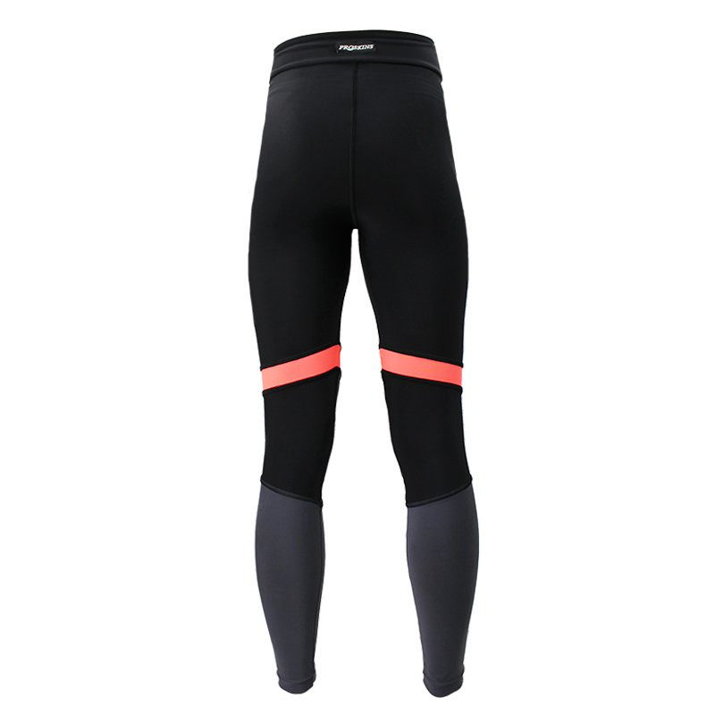 e8b5546d030a SLIM GYM Black Pink Grey Panel Leggings - Proskins  Men s and ...