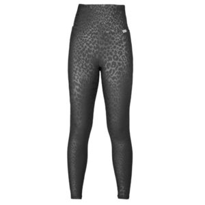 SLIM Boost Leopard High Waisted Compression Leggings with Silver Anti-bacterial Finish