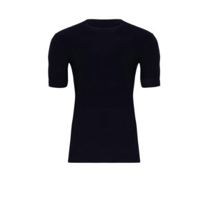 Mens POWER Short Sleeve Black Top
