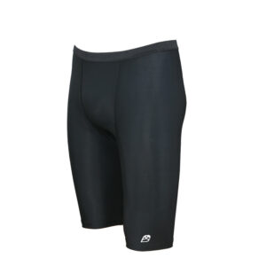 ACTIVE Men Fold Over Waist Compression Shorts