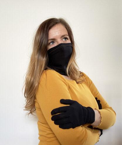 Luxury Mask and Gloves Set