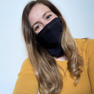 Gold Compression Snood with silver anti-bacterial finish