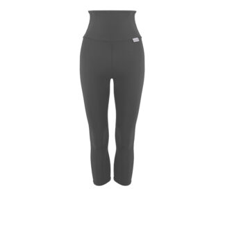 SLIM High Waisted Compression Capri Plus with Silver Anti-bacterial Finish (ITA)