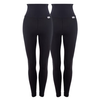 Slim Anti Cellulite High Waisted Compression Leggings Starter Pack with Silver Anti-bacterial Finish