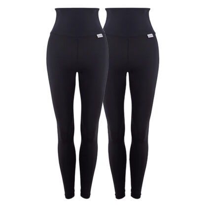 28 Day Challenge High Waisted Compression Leggings Starter Pack with Silver Anti-bacterial Finish