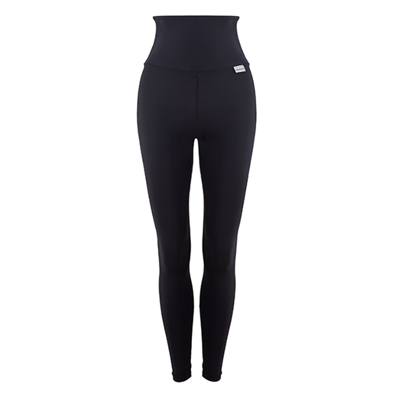 Slim High Waisted Compression Leggings With Silver Anti Bacterial Finish Proskins Men S And Women S Sportswear And Accessories