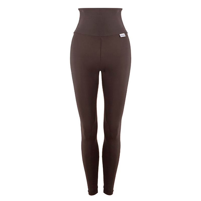 SLIM High Waisted Compression Leggings with Silver Anti-bacterial Finish