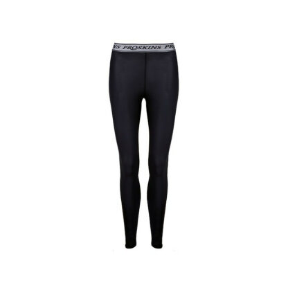 Recovery Women Black Compression Leggings with Silver Anti-bacterial Finish
