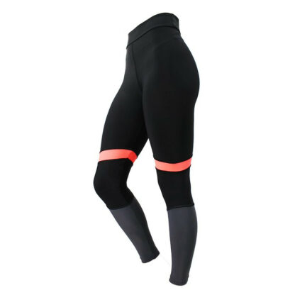 Slim_Gym_Black_Pink_Grey_Panel_Leggings side view