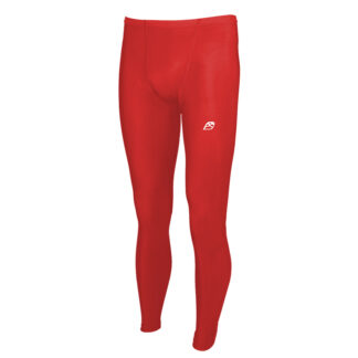 ACTIVE Men Fold Over Waist Baselayer Compression Leggings with Silver Anti-bacterial Finish