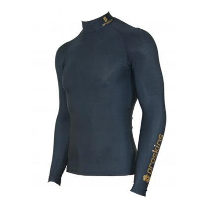 ACTIVE Men Long Sleeve Compression High Neck Top