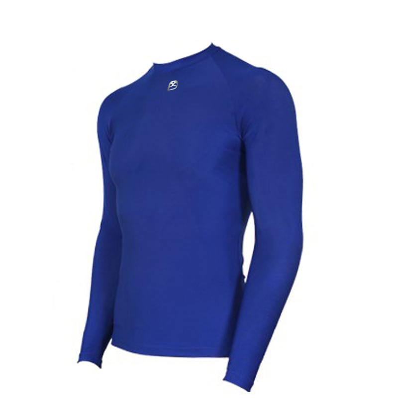 Active Men Crew Neck Long Sleeve Compression Top