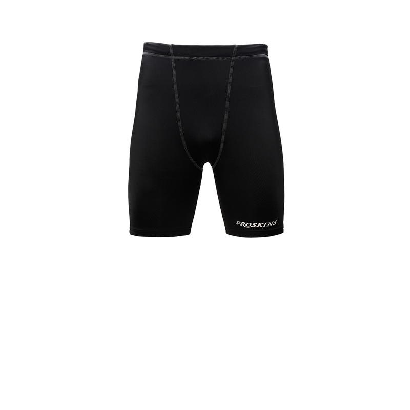 Active Men Black Run Shorts