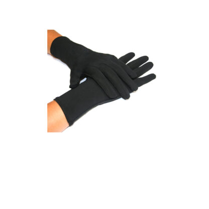 Gold Anti-ageing Compression Gloves with silver anti-bacterial finish