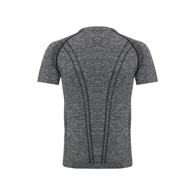 Mens Seamless Short Sleeve Top