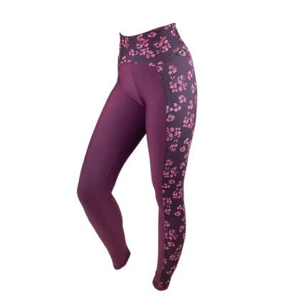 SLIM Anti Cellulite Luxe Claret Red/Pink Tones