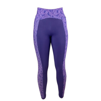 SLIM Anti Cellulite Luxe Crown Jewel/Purple Rain Panel Leggings