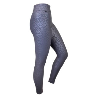 SLIM Boost Leopard Compression Leggings with Silver Anti-bacterial Finish