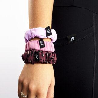 Skinny Scrunchie 3 Pack Pinks