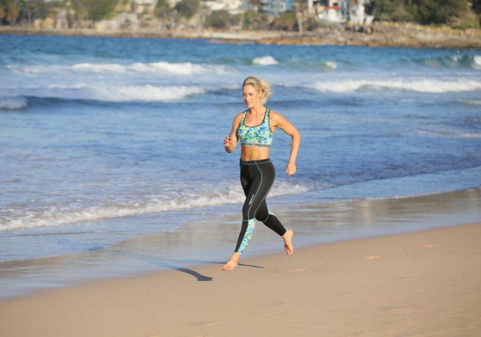 mothers day, running, beach, gift